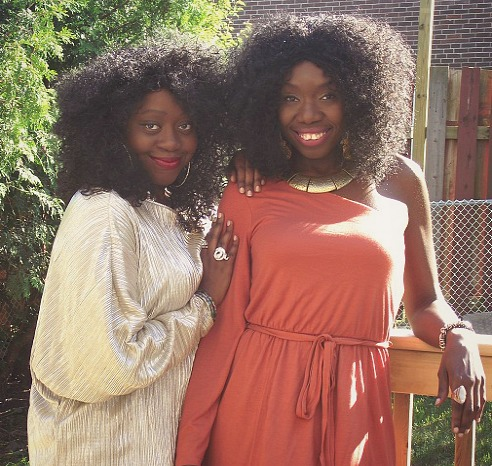 Meet #Fashion Bloggers, Carcia & Chantell 'Telly' Campbell