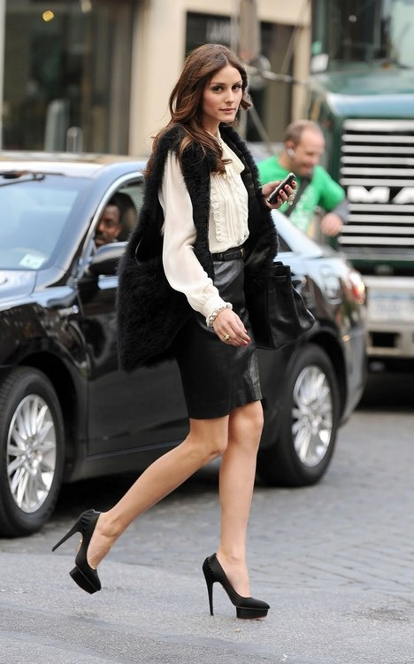 The Leather Skirt: How to Glam up YourStyle