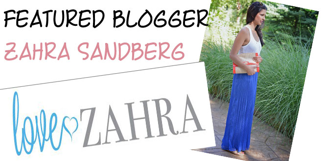 Meet City Blogger of the Month: Zahra Sandberg